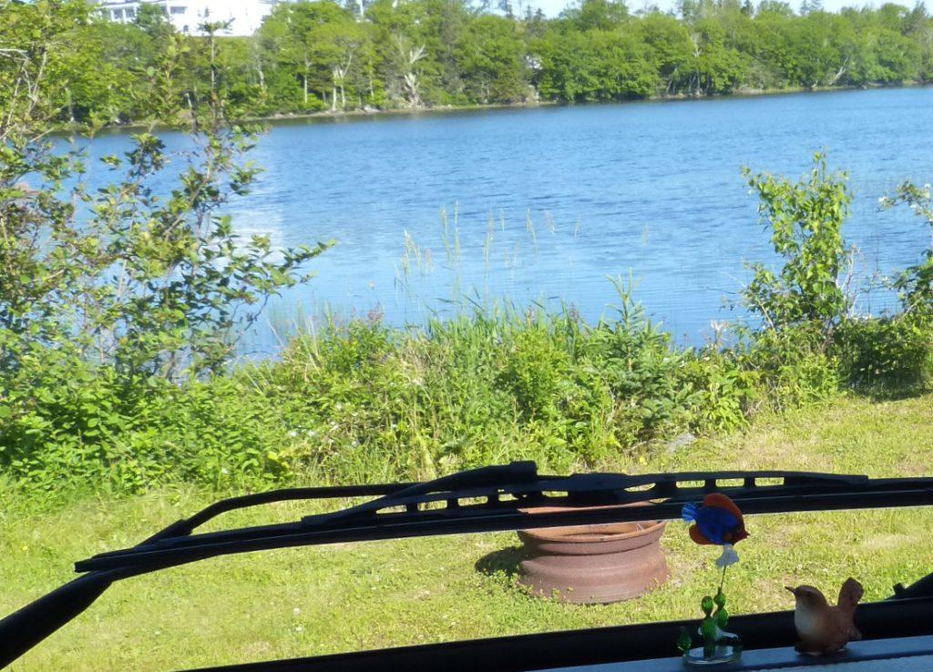 Aussicht auf den Lake Breeze
