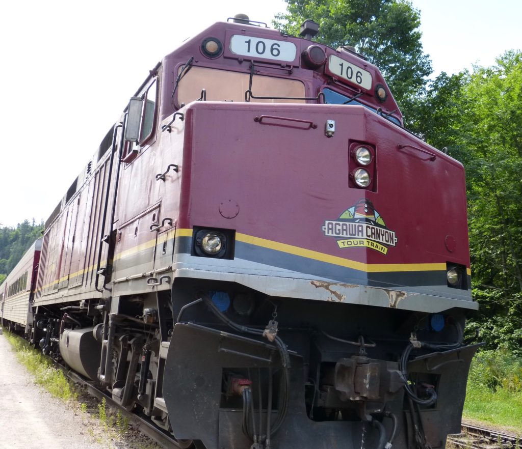 Thunder Bay_Agawa Canyon Train