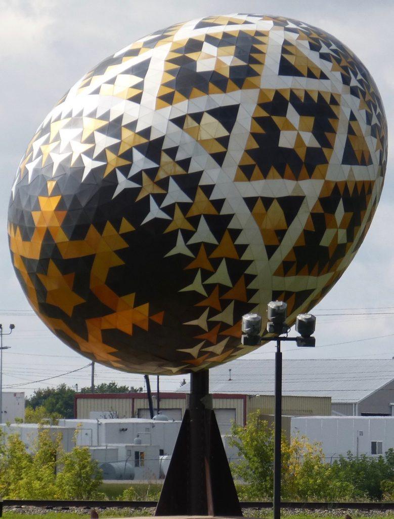 Vegreville_Dorfwahrzeichen_grösstes Ei